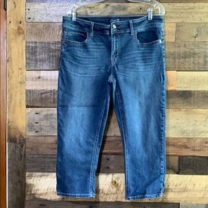 Seven7 Jeans capris size 14 skinny